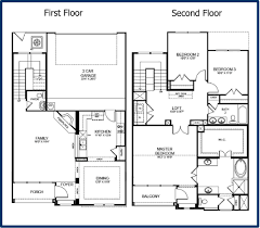 simple two story house modern two story house plans houses floor plan
