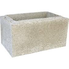 boisseau pouzzolane béton de pouzzolane h 40 x l 40 x l 20 cm