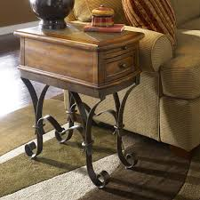 End Table Charging Station by Furniture Tall End Table With Drawers Occasional Tables With