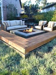 Deck Firepit Best Firepit Cfresearch Co