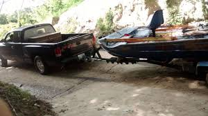 Dodge Dakota Truck Camper - dodge dakota pulling up at boat ramp youtube