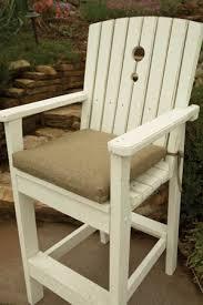 outdoor treated wood bar stools u0026 tall dining chairs bar