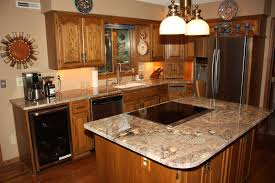 new countertops in kitchen remodel c u0026d granite countertops