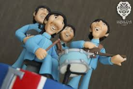 beatles cake toppers between the pages beatles