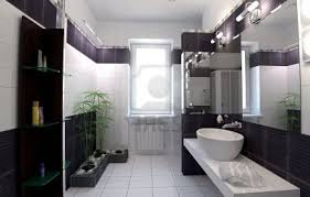 Dark Brown And White Bathroom - black and white bathroom ideas gallery stainless steel frre
