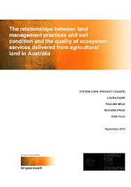 PDF The relationships between land management practices and soil