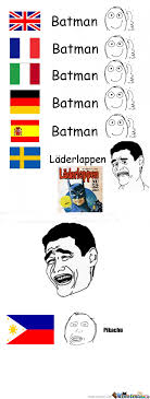 Language Meme - batman in different languages by jincrimsonred meme center