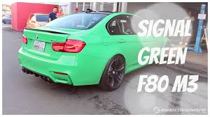 green bmw 2016 bmw m3 signal green youtube
