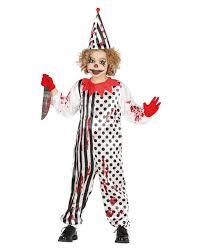 horror clown kids costume for halloween horror shop com