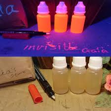 liquids that glow under black light varnish based transparent uv reactive blacklight paint invisible