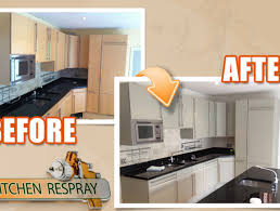 how much does it cost to respray kitchen cabinets kitchen respray kitchens bedrooms bathrooms service available in