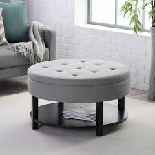 sofa square leather ottoman leather cocktail ottoman large