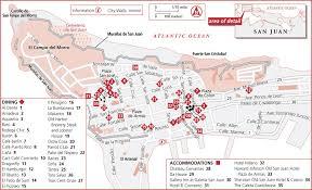 san juan map map of san juan tourist map travel holidaymapq com