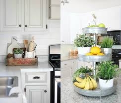 How To Organize Your Kitchen Counter Unique Style Tray To Organize Kitchen Countertop Trends4us Com
