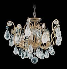 Chandelier India by Schonbek 2484 Versailles Rock Crystal Collection Chandelier