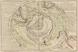 Old Map Old Map Of South Pole Antarctica Map Historic South Pole
