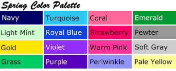 spring color personal color palettes your most flattering colors