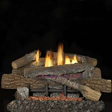 superior fireplaces 24 inch boulder mountain gas logs with vent