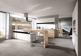 modern black and white kitchens kitchen wooden tables and chairs on the white kitchen cabinets