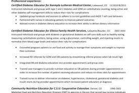 R D Resume Sample by Dietitian Resume Sample Reentrycorps
