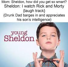 Young Mom Meme - these brutal memes on young sheldon from a redditor are insane