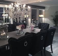 Black Dining Room Furniture Decorating Ideas Delighful Glass Dining Room Table Decor Ideasglass Ideasstupefying