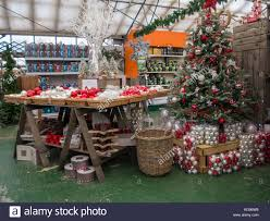 Garden Centre Christmas Decorations Christmas Tree Shopping Uk Indoors Stock Photos U0026 Christmas Tree