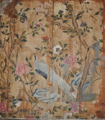 the history blog blog archive 18th c chinese wallpaper found