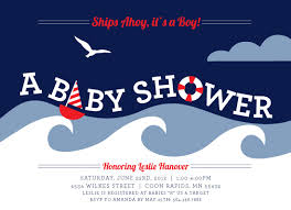 nautical baby shower invitations nautical baby shower invitations templates gangcraft net