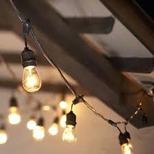 ikea flower string lights patio lights lighting and landscape