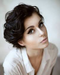 very short hairstyles for naturally wavy hair u2013 trendy hairstyles