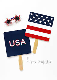 free printable photo booth props template 35 free patriotic printables