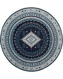 light blue round area rug bargains 30 off navy light blue blue light blue tribal design
