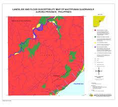 Aurora Map Risk Map Region Iii Aurora Nagtipunan 2 Landslide Flood Shelter