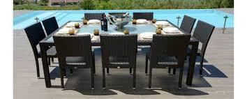 tavoli da giardino rattan tavoli per esterno di design per arredi giardino e terrazzo uniko