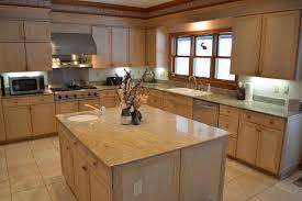 birch kitchen island kitchen enchanting ideas for u shape kitchen decoration using