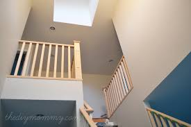 Stairway Banisters And Railings Finishing Our Stair Railings More Peeks At Our Almost Finished