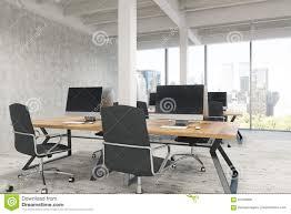 open office with pillars stock illustration image 91509830