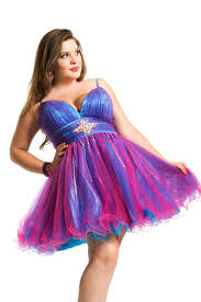 fashion trends sweet purple plus size prom dresses combined with