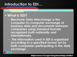 electronic data interchange edi rebecca fouts laura frye laura