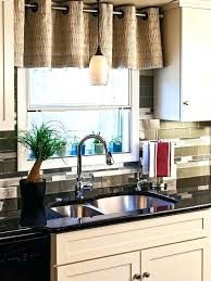 window ideas for kitchen curtains kitchen window ideas valance ideas the sink kitchen
