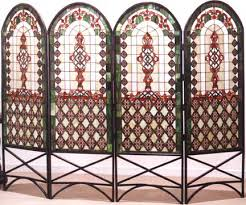 Quatrefoil Room Divider Furniture Room Dividers Classical Quatrefoil Four Panel Room Divider