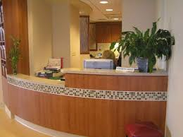Napoli Reception Desk Reception Counter With Mosaic Tile Reception Counters