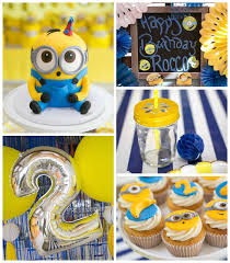 minion birthday party ideas minion madness birthday party via kara s party ideas
