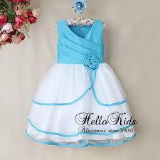 light blue dresses for kids baby blue and white flower dresses wedding dress shops