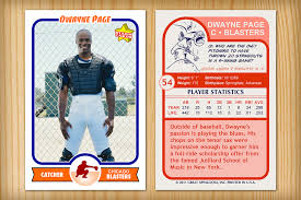 free baseball card template download best u0026 professional templates