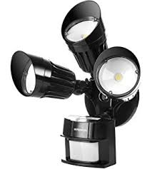 Led Security Lights Hyperikon Led Security Light 30w 125w Equivalent Outdoor Motion