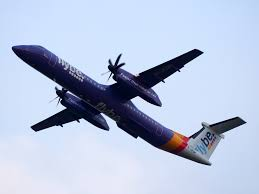 file g jedp bombardier dash 8 q400 takeoff from schiphol pic1