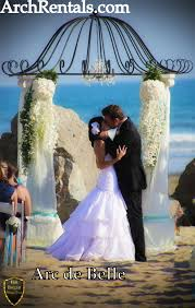 wedding arches los angeles hotel coronado wedding altar san diego gazebo rentals miami