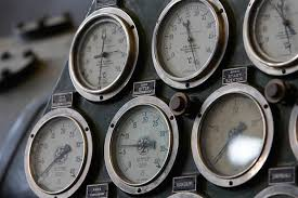 gauge vintage gages steampunk pressure gauge antique gauge